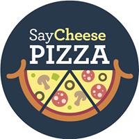 Say Cheese Pizza logo